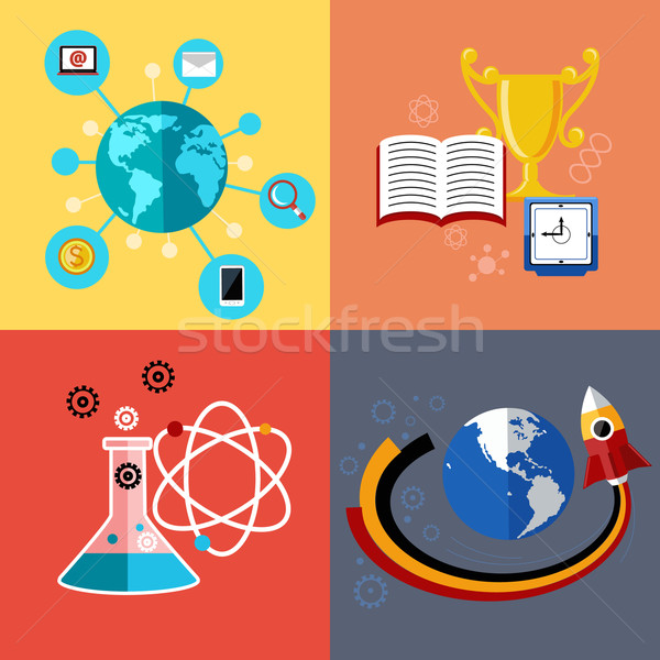 Modern education and science concept Stock photo © robuart