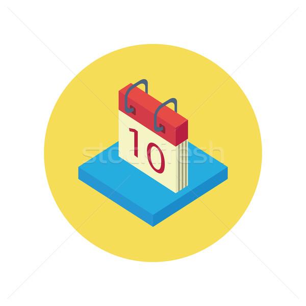 Calendar App Icon Stock photo © robuart