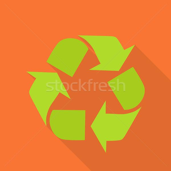 Green Recycle Symbol Stock photo © robuart