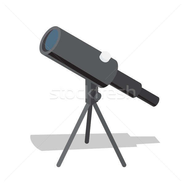 Télescope optique instrument observation aides distant Photo stock © robuart