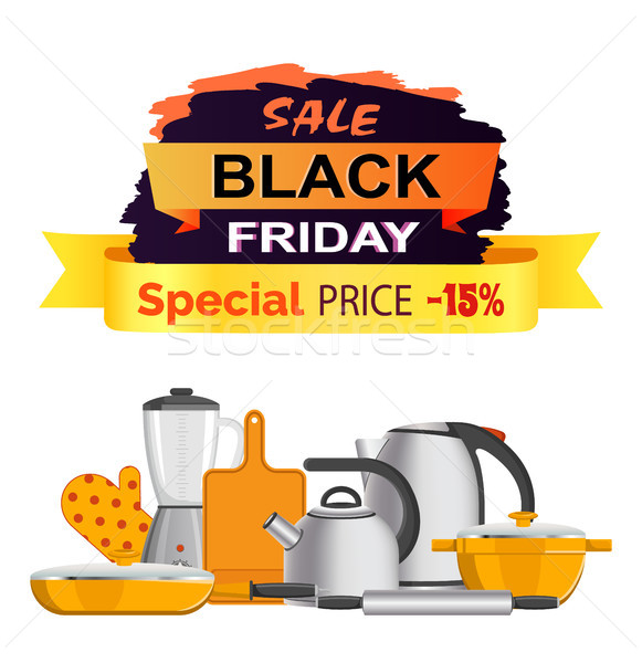 Black Friday Special Sale Vector Illustration Stock photo © robuart