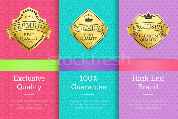 эксклюзивный качество 100 гарантировать высокий марка Сток-фото © robuart