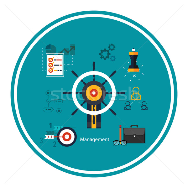 Сток-фото: иконки · управления · бизнеса · инструменты · различный · компьютер