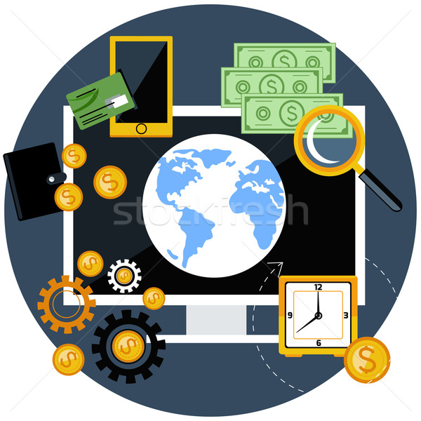 Global finance and economy Stock photo © robuart