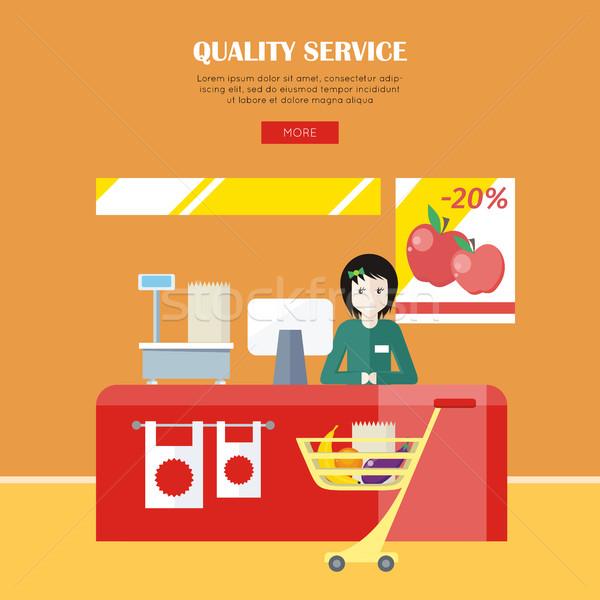 Quality Service Concept Stock photo © robuart