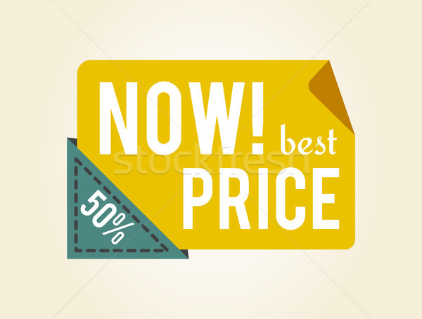 Now Best Price 50 Off on Vector Illustration Stock photo © robuart