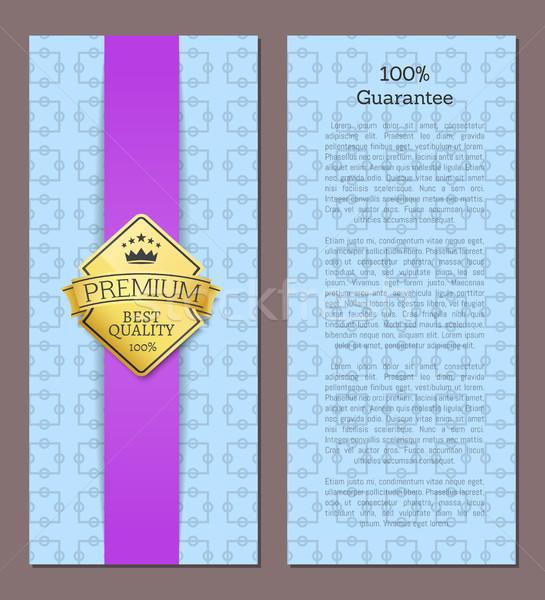 100 保証 プレミアム 品質 ベスト 提供 ストックフォト © robuart