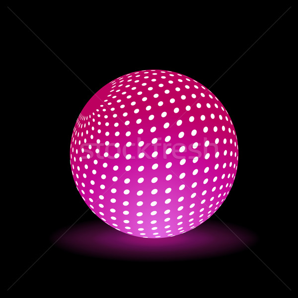 Digital Light Ball Stock photo © robuart