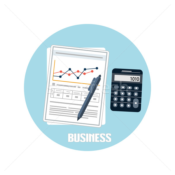 Business documents concept Stock photo © robuart