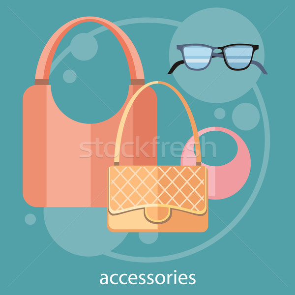 Womens fashion accessories Stock photo © robuart