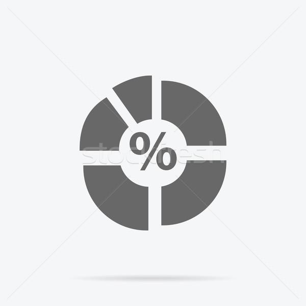 円グラフ にログイン デザイン グラフ パイ インフォグラフィック ストックフォト © robuart