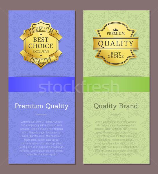 Prime qualité marque attribution grand choix Photo stock © robuart