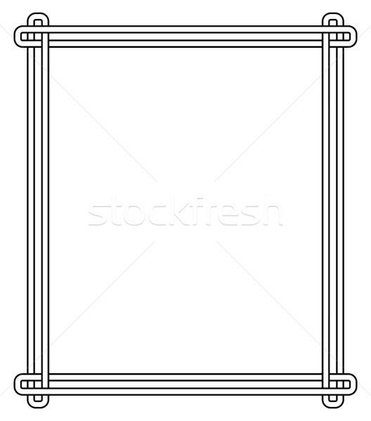 ミニマリスト 幾何学的な フレーム 3  その他 ストックフォト © robuart