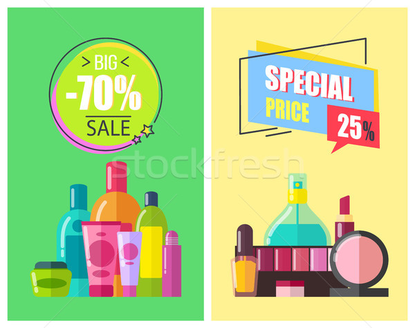 Special Price Big Sale Color Vector Illustration Stock photo © robuart