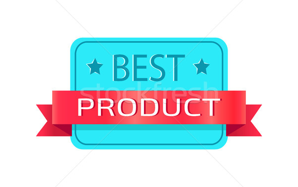 En iyi ürün dikdörtgen biçiminde küçük Stok fotoğraf © robuart