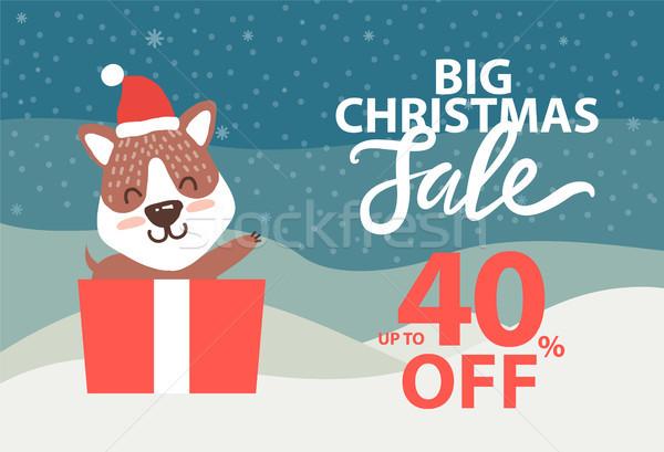 большой Рождества продажи вверх 40 Сток-фото © robuart