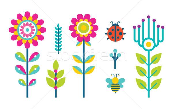 Creativo primavera fioritura bud set Foto d'archivio © robuart