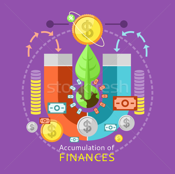 Accumulation of Finances Concept Stock photo © robuart
