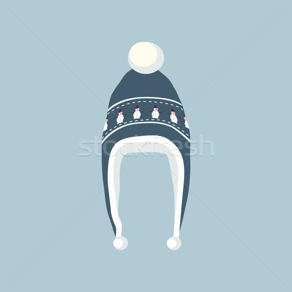 Set Winter Hat Stock photo © robuart