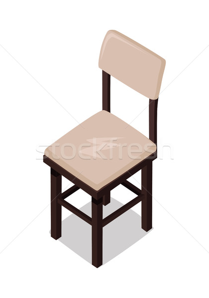 Home and Office Furniture in Isometric Projection Stock photo © robuart