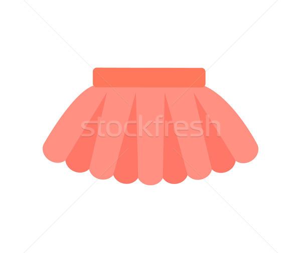 Bébé vêtements jupe affiche vêtements Photo stock © robuart