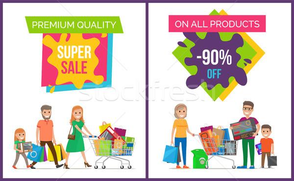 Premium Quality Super Sale Pic Vector Illustration Stock photo © robuart