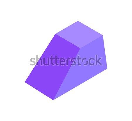 Combined Geometric Figure Prism, Colorful Banner Stock photo © robuart