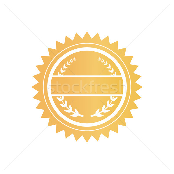 Certificate of Circled Shape Vector Illustration Stock photo © robuart