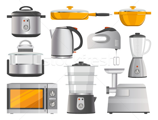 Kitchen Electric Appliances and Modern Supplies Stock photo © robuart