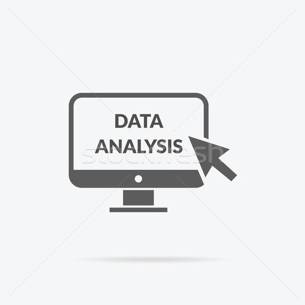 маркетинга данные аналитика статистика диаграммы анализ Сток-фото © robuart