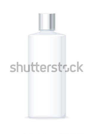 Lotion or Shower Gel bottle. Empty Cosmetic Product Stock photo © robuart