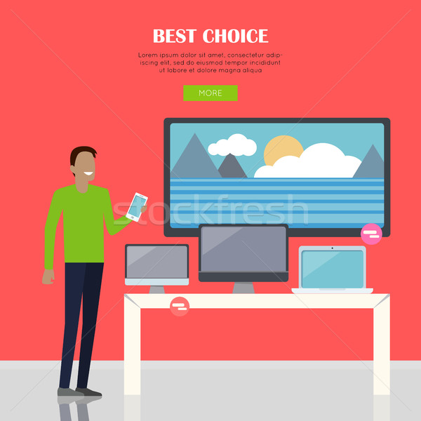Best Choice Concept Stock photo © robuart