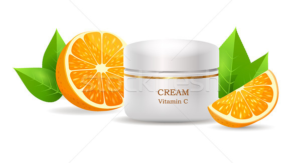 Room vitamine c glanzend buis vector Stockfoto © robuart
