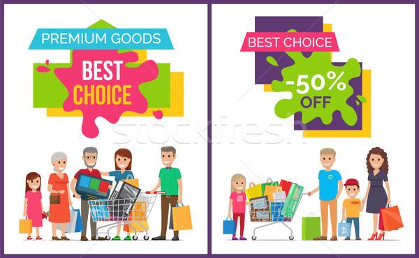 最良の選択 プレミアム コレクション 幸福 家族 ストックフォト © robuart