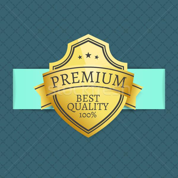 Premie best kwaliteit gunning 100 garanderen Stockfoto © robuart
