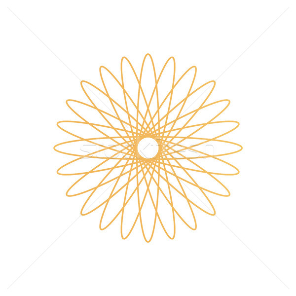 Gold Certificate Symbol for Special Documents Stock photo © robuart