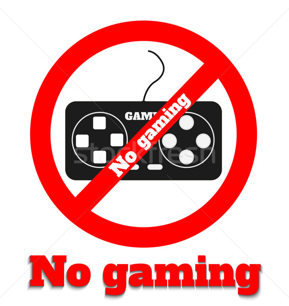 No gaming Stock photo © robuart