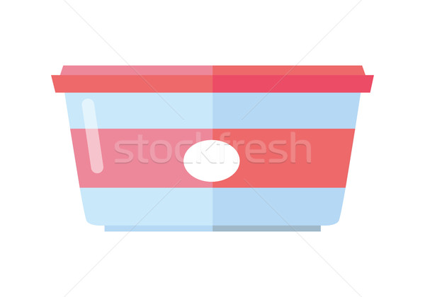 Food Container Vector Illustration in Flat Design Stock photo © robuart