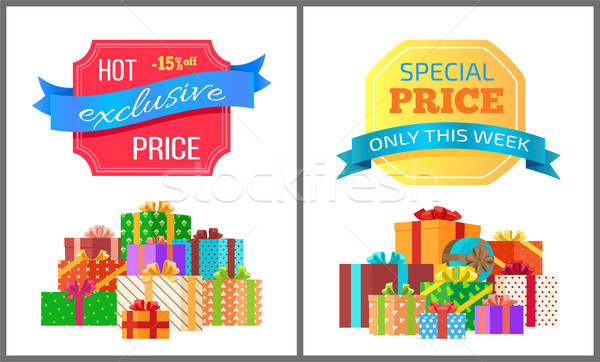 Exclusive Hot Price Best Offer Only Week Special Stock photo © robuart
