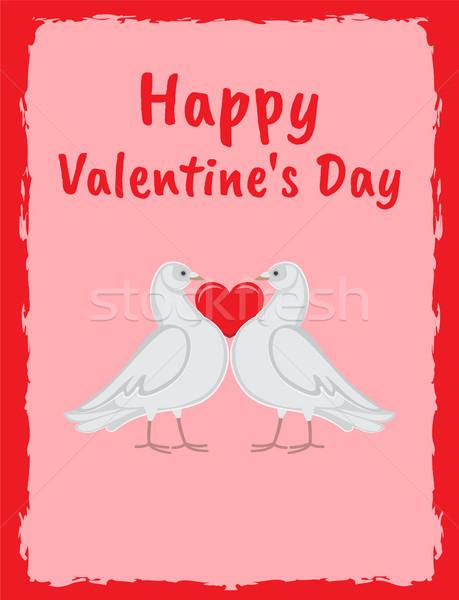 Felice san valentino giorno poster Foto d'archivio © robuart