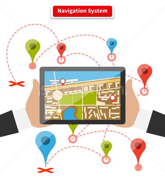 Navigation System Stock photo © robuart