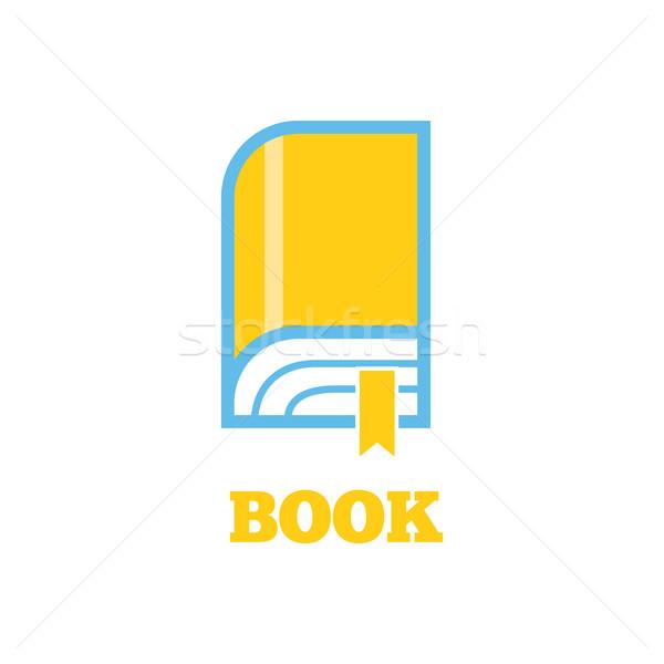 Livre logo signe design nouvelle icône Photo stock © robuart