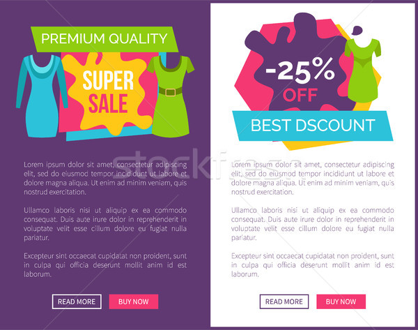 Premium Quality Super Sale 25 Off Best Discount Stock photo © robuart
