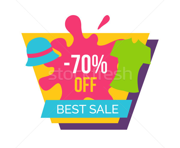 Best Sale with 70 Off for Female Clothes Emblem Stock photo © robuart