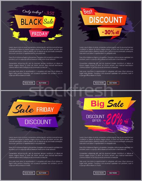 Ma black friday vásár legjobb árengedmény 30 Stock fotó © robuart