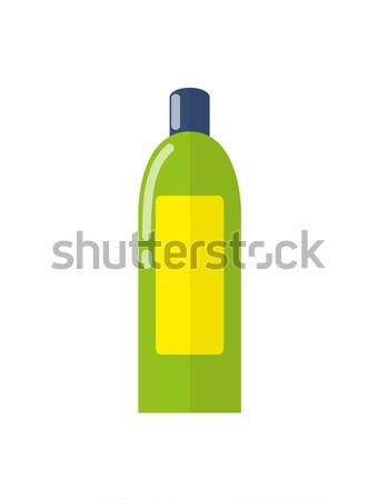 Plastic Bottle and Cosmetics Vector Illustration Stock photo © robuart