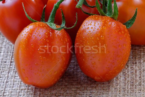 チェリートマト つる トマト カバー 水分 ストックフォト © rogerashford