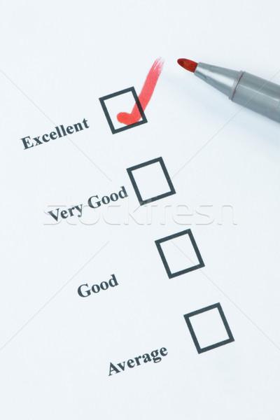 優れた ボックス 赤 先端 ペン ビジネス ストックフォト © rogerashford