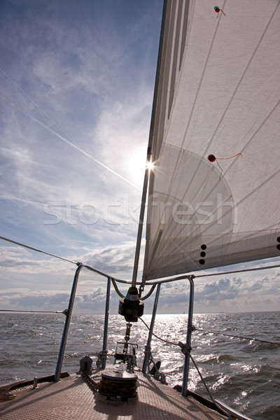 Sailing Stock photo © rogerashford