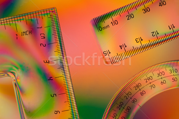 Colorful Scales Stock photo © rogerashford